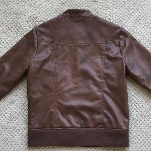 "Jack Jackets & Coats - ""Biker-style' Jacket Faux Leather"